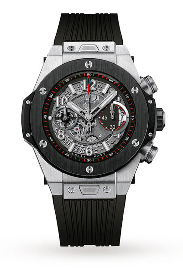 hublot watches goldsmiths arguably the watch to dictate industry trends since its launch the hublot big bang range is all about the unconventional industrial style meets sporting